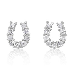Lucky Horseshoe Earring Set - E01280R-C01