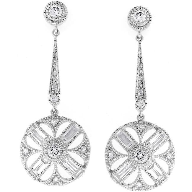 Cubic Zirconia Zodiac Earrings - E01536R-C01