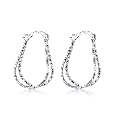 Silver Earrings LSE667