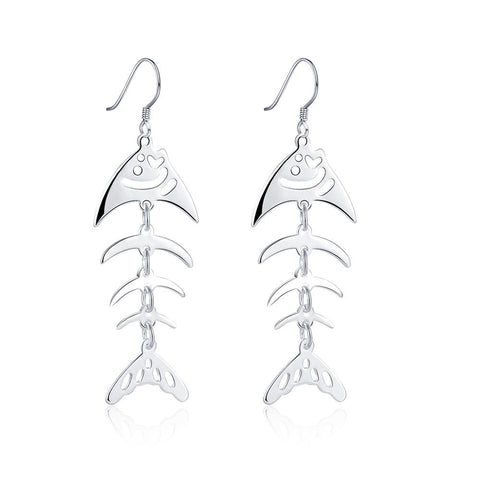 Silver Earrings LSE676