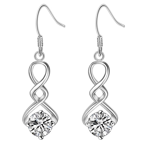 Silver Earrings LSE949