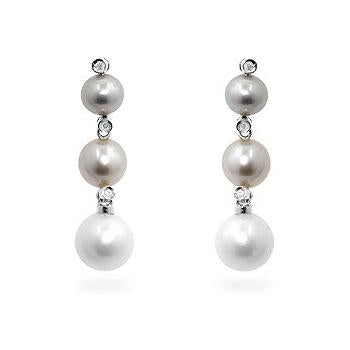 Multicolor Pearl Earrings - IE-LE63035W