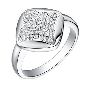 White Gold Plated Ring LSJ068