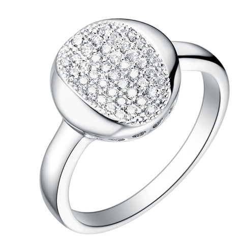 White Gold Plated Ring LSJ069