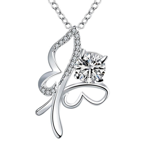 Silver Necklace LSN021-D