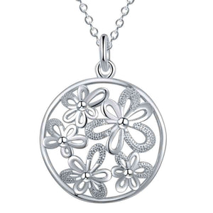 Silver Necklace LSN1176