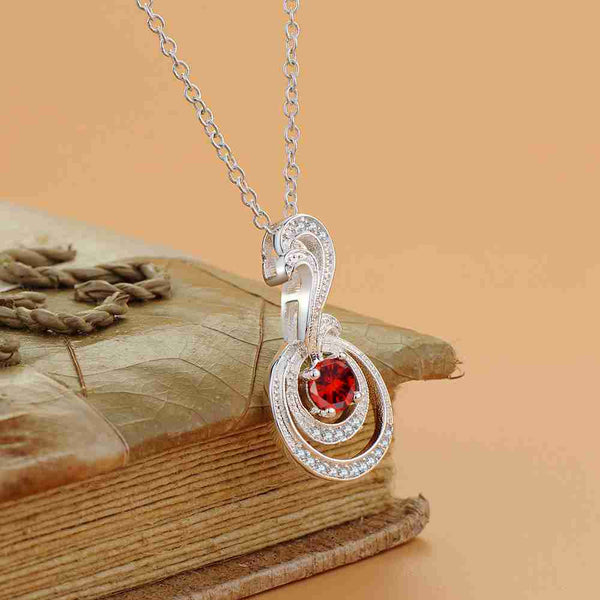 Silver Necklace LSN1179