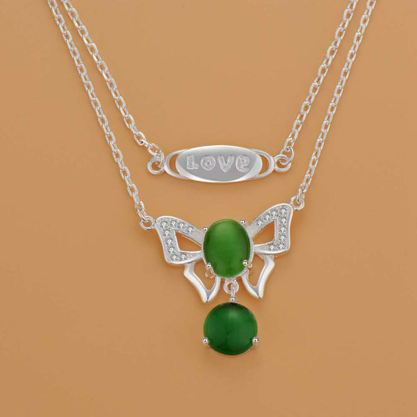 Silver Necklace LSN1191