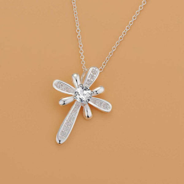 Silver Necklace LSN1196