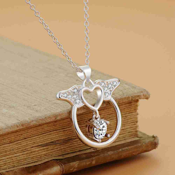 Silver Necklace LSN1202
