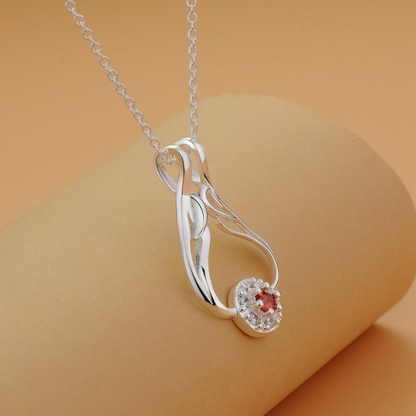 Silver Necklace LSN1216