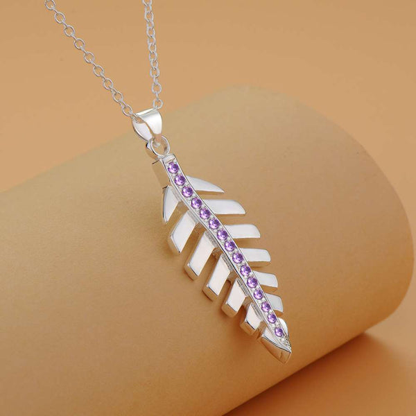Silver Necklace LSN1224