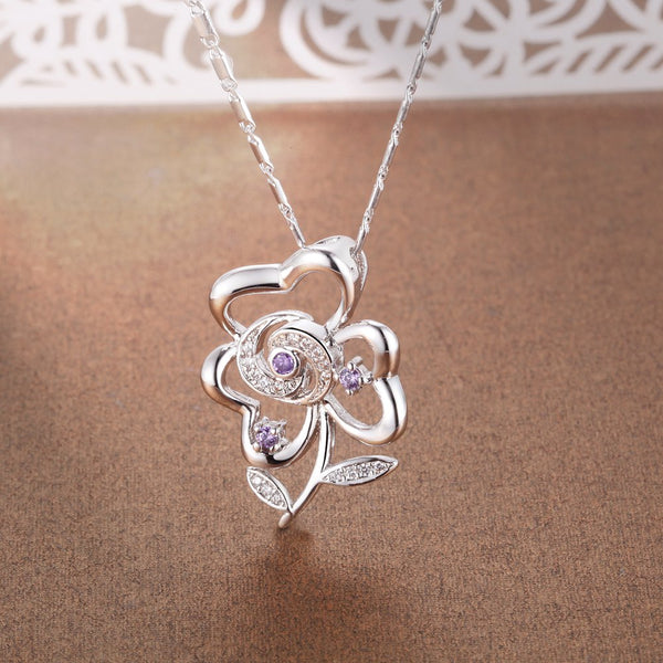 White Gold Necklace LSN1382