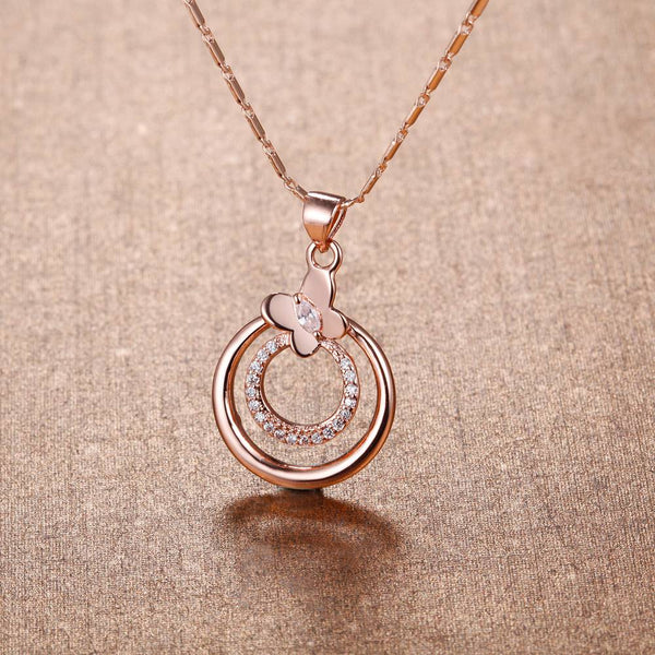 Rose Gold Necklace LSN1394