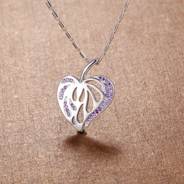 White Gold Plated Necklace LSN1399