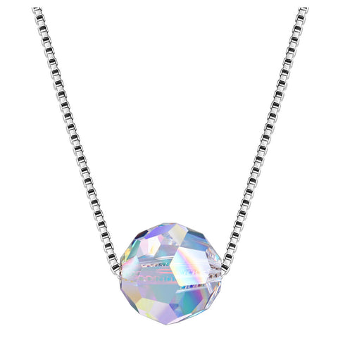 White Gold Plated Necklace LSN1444