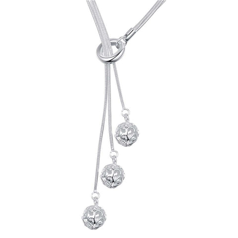 Silver Necklace LSN442