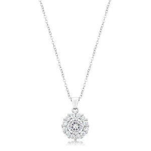 Bella Bridal Pendant in Clear - P50163R-C01