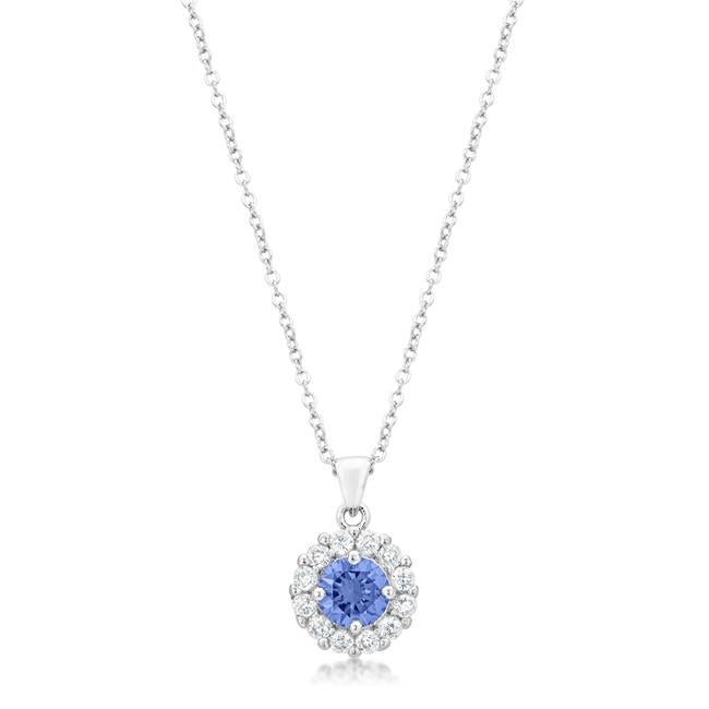 Bella Bridal Pendant in Light Purple - P50163R-C21