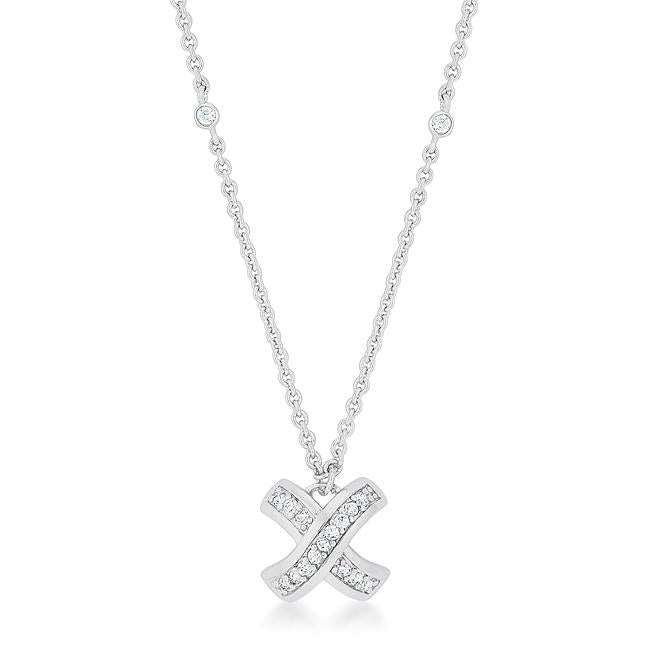 Timeless Pave Necklace - P50166R-C01