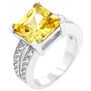Jonquil Princess Ring - R07394R-C60