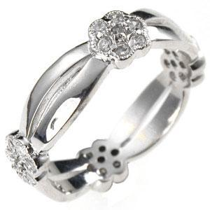 Floral Eternity Ring - R07557R-C01