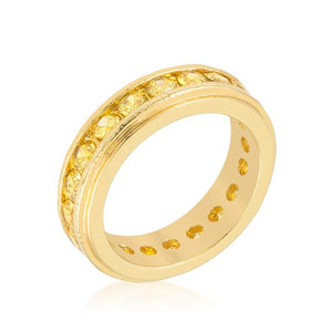 Golden New England Eternity Ring - R07727G-C61