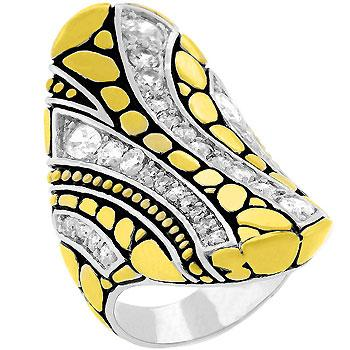 Abstract Cobblestone Ring - R07979T-C01