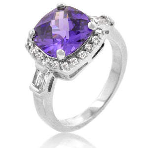 Midnight Amethyst Ring - R08036R-C21