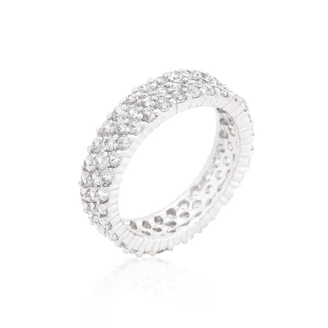 Pave Eternity Ring - R08320R-C01