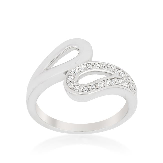 Fancy Split Shank Contemporary Ring - R08389R-C01