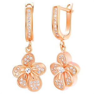 Rose Gold Earrings LSR218