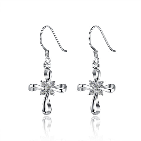 Silver Earrings LSE809