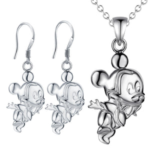 Silver Kids Jewelry Set LST066