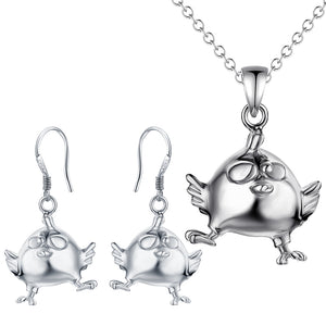 Silver Kids Jewelry Set LST068