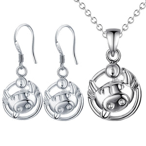 Silver Kids Jewelry Set LST070