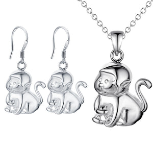 Silver Kids Jewelry Set LST071