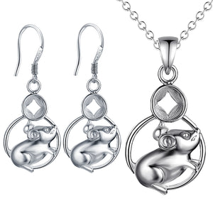 Silver Kids Jewelry Set LST072