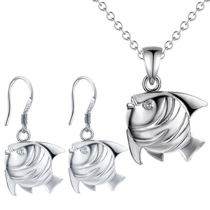 Silver Kids Jewelry Set LST074