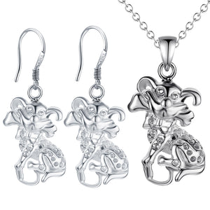 Silver Kids Jewelry Set LST075