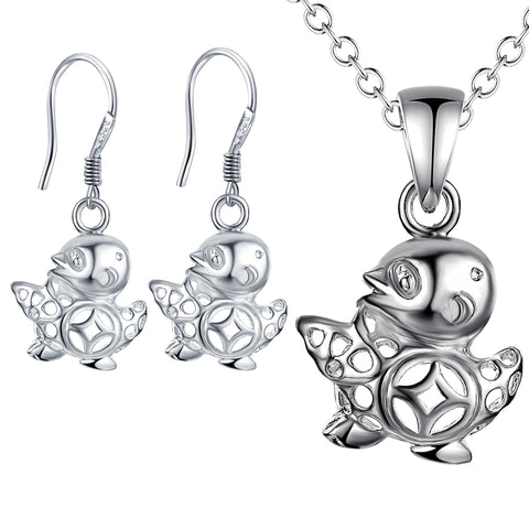 Silver Kids Jewelry Set LST079