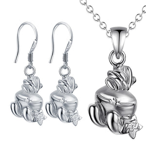 Silver Kids Jewelry Set LST080