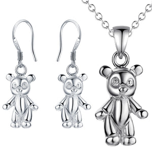Silver Kids Jewelry Set LST081