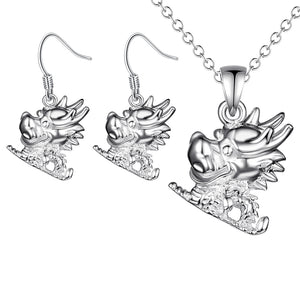 Silver Kids Jewelry Set LST083