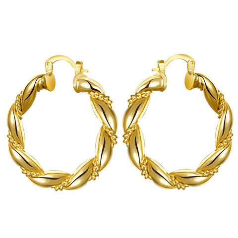 Gold Earrings LSE015