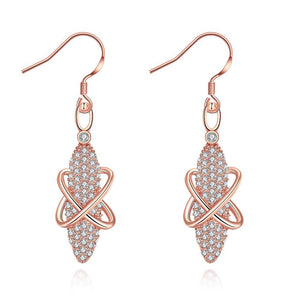 Rose Gold Earrings LSE017