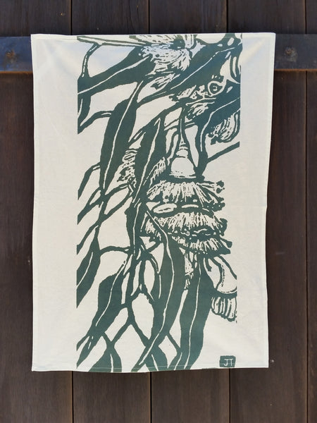 SALE - 25% OFF - Handprinted Napkin Set - Shark Bay Rose