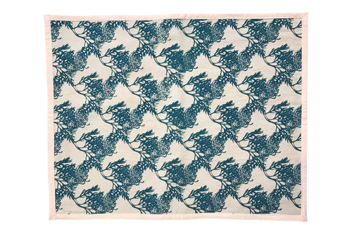Reversible Placemats - Blue Grevillea / Yellow Hardenbergia