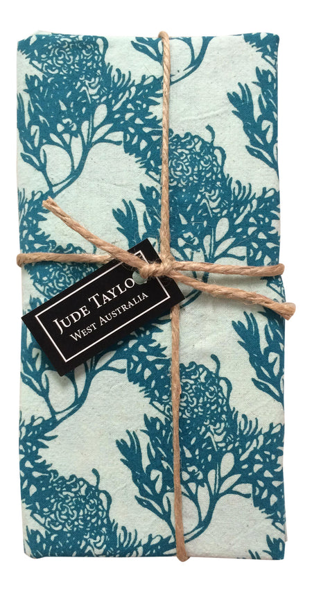 SALE - 50% OFF - Reversible Placemats - Kangaroo Paw / Shark Bay Rose