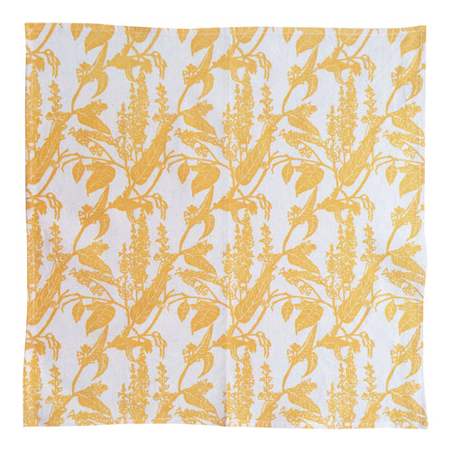 Handprinted Napkin Set - Native Wisteria